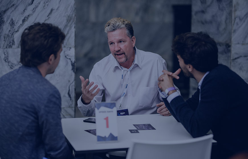 Attract investors during 1:1 meetings